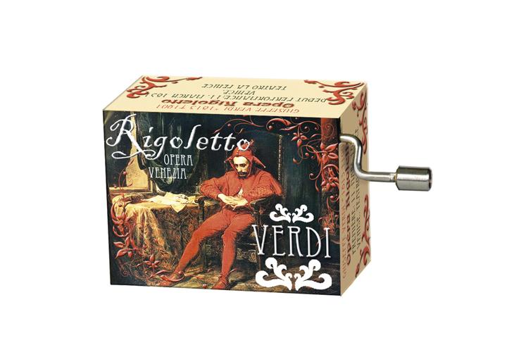 Boîte à musique: OPERAS Rigoletto, mélodie