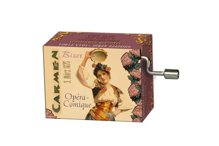 Boîte à musique: OPERAS Carmen, mélodie