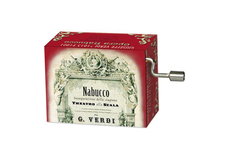 Boîte à musique: OPERAS Nabucco, mélodie