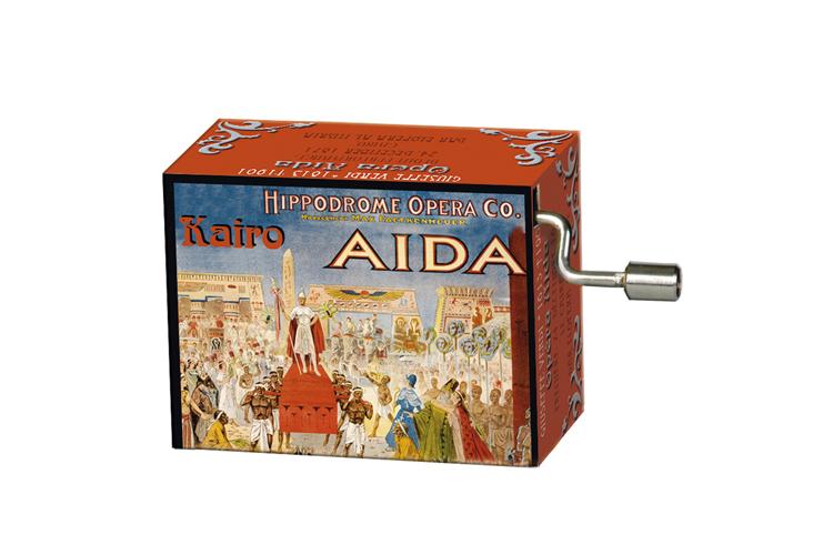 Boîte à musique: OPERAS Aida, mélodie