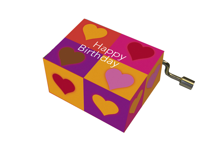 Boîte à musique: HAPPY BIRTHDAY