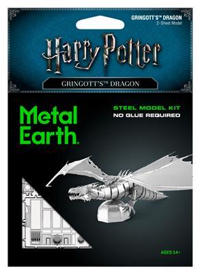 Harry Potter Gringgottts Dragon Metal Earth
